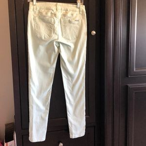 Black House White Market mint green skimmer pants